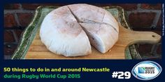 Visit Greggs for a stottie. Cheese savoury's a popular filling in the classic North East soft bread #Newcastle #Gateshead #NewcastleGateshead #NorthEast #NorthEastEngland #RWC2015 #Rugby #RugbyWorldCup #RugbyUnion #Sport #Travel