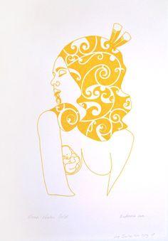 Bronwyn Waipuka Kura Gallery Maori Art Design New Zealand Mana Wahine Series Framed Digital Print Featured Artist Nz Art, Art For Art Sake, Art Pictures, Art Images, Hawaiian Tribal, Hawaiian Tattoo, Maori Designs, New Zealand Art, Nordic Tattoo