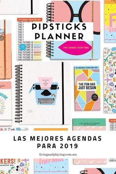 Pipsticks Planner. Una agenda creada en Los Angeles. Si lo tuyo son los stickers, esta agenda te va a encantar. . Lee más en el blog: Las mejores Agendas para 2019 Planners, Everything Changes, Bright Future, Boss Babe, Journaling, Notebook, Stickers, Blog, Ideas