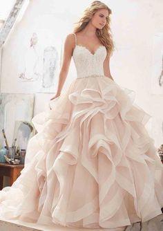 Prinses trouwjurk. Mori Lee trouwjurk model 8127 Marilyn