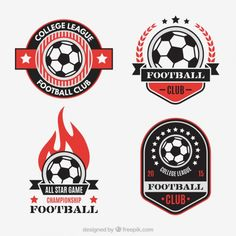 Football Club Badges Vector | Free Download