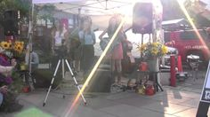 Folka Dots play Simple Days at Silver Star Cafe's Plaza Palooza, 8-09-12
