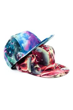 3d145de5fcc Colorful Galaxy Print Cool Baseball Cap