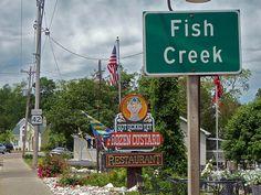 """""""Not Yet Licked"""" Frozen Custard, Fish Creek, Door County Door County Wisconsin, Wisconsin Dells, Lake Michigan, Sister Bay, Fish Creek, Butter Pecan, Most Visited, Great Lakes, Summer Fun"""