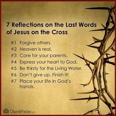 Reflect on the words of Jesus. The Words, Words Of Jesus, God Jesus, Word Of God, Easter Bible Verses, Bible Scriptures, Bible Quotes, Easter Quotes, Jesus Bible