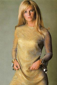 Julie Christie, 1960s. That dress!!!