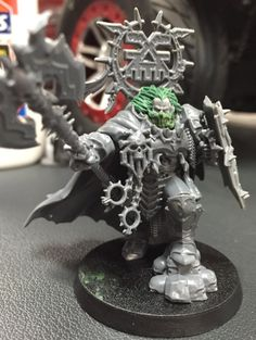 Warrior of chaos Warhammer Art, Warhammer 40k Miniatures, Warhammer Fantasy, Chaos 40k, Chaos Lord, Mad Movies, Chaos Legion, 40k Armies, Minis