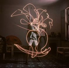 Picasso, light painting