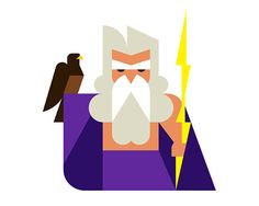It's Nice That : Long-time favourites Hey studio create a new series of geometric gods