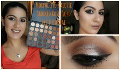 Here's my SMOKED ROSE GOLD Eye Tutorial on YouTube using the new Morphe 35O Palette #morphe35O #morphebrushes #makeup #eyetutorial #smokeyeye #rosegold #tutorial #Makeuptutorial #anastasiabeverlyhills #nyxsoftmattelipcream #colourpoptootsi