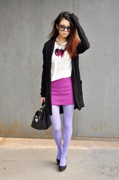 Forever 21 Necklace, Cecil Mcbee Sweater, Vancl Skirt