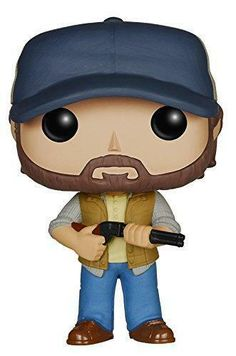 Details: From Supernatural, Bobby Singer, as a stylized POP vinyl from Funko! Collect them all! From Supernatural, Bobby Singer, as a stylized POP vinyl from Funko! Funko Pop Supernatural, Supernatural Bobby, Supernatural Merchandise, Supernatural Gifts, Supernatural Beings, Bobby Singer, Pop Goes The Weasel, Pop Television, Pop Characters
