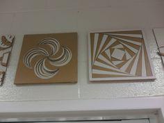 Cardboard decorations