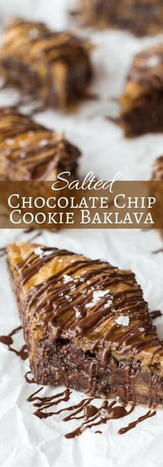 Salted Chocolate Chip Cookie Baklava | halfbakedharvest.com @hbharvest