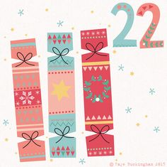 Day 22 Christmas advent, by Faye Buckingham