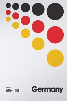 Cool design! Euro 2012 Posters by David Watson, see full collection here; http://design-milk.com/euro-2012-posters-by-david-watson/#
