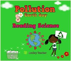 Reading Science about Pollution There are 4 kinds of Pollution integrated with present simple Land or soil Water Light Air Pollution simple tenseThis worksheet/test consists of: Vocabulary with Water Pollution, Light Pollution, Reading Comprehension Test, Short Passage, Science Worksheets, Dark Skies, Physical Science, Nutrition Information, Smiley