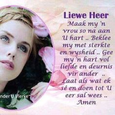 Scripture Verses, Bible Quotes, Qoutes, Prayer For Loved Ones, Afrikaanse Quotes, Goeie More, Good Morning Inspirational Quotes, Godly Woman, Stress And Anxiety