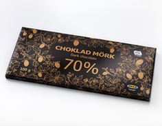 IKEA CHOKLAD MÖRK 70% Good Inside認証 カカオ70%ダークチョコレート