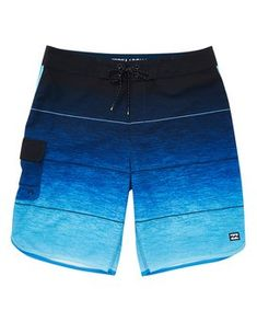 378a52e7794329 billabong, 73 Stripe Pro Boardshorts, BLUE (blu) Surf Shorts, Bermuda Shorts