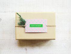 15 Cute and Creative DIY Christmas Gift Tag Ideas