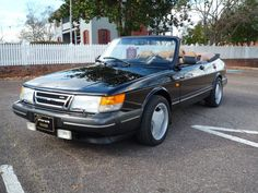 Bid for the chance to own a No Reserve: One-Owner 1991 Saab 900 Turbo Convertible at auction with Bring a Trailer, the home of the best vintage and classic cars online. Saab 900 Convertible, Michael Jordan Pictures, Moving To Florida, Cruise Control, Fuel Injection, Classic Cars Online, Rear Window, Rear Seat, Black Canvas