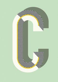 Ferm Living Bau Deco Letter Posters (A-Z) - House&Hold