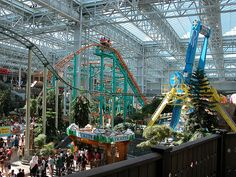 Amusement Park at the Mall of America, Bloomington MN