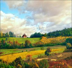The Serbian countryside...studied the language in grad school and would love to see this one day.