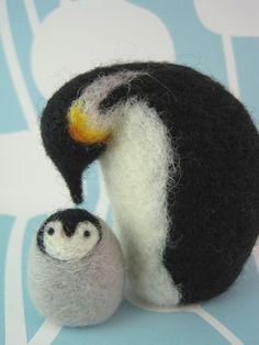 hopefully signing up for a needle felting class next month...how cute would these be to make?!