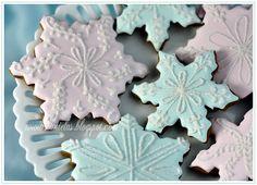Winter Snowflake Cookies