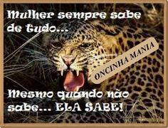 MULHER SABE DE TUDO...