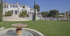 First built in 1938, the 11-bedroom chateau includes a glass elevator, a ballroom, three l...