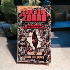 Code Name Zorro | Used, Rare, Vintage and Out of Print Books - www.ValiumBlueBooks.com #Books