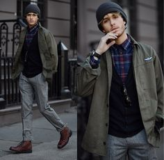 On taking risks (by Adam Gallagher) http://lookbook.nu/look/4657071-on-taking-risks