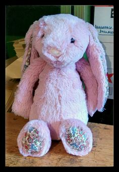 FOUND in FULHAM, LONDON  This lovely pink Jellycat bunny was left in Nomad Books in Fulham sometime around Christmas. Some must be missing her. Contact: https://twitter.com/nomadbooks or https://twitter.com/EmmaJeanKennedy