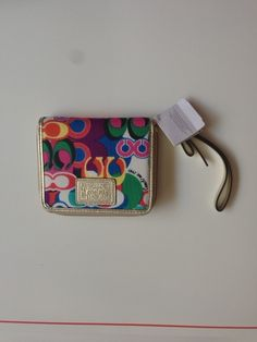 9dc164fc3 'Coach Daisy Pop Zip Around Wallet Wristlet ' is going up for auction at 1pm