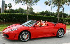 ♡ SecretGoddess♡ www.pinterest.com/secretgoddess/ #Cars #luxury #glamourous #Audi #Mercedes #Lamborghini #Ferrari #BMW  *****Ferrari F430 Spider *****