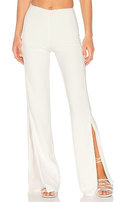 online shopping for Lovers + Friends x REVOLVE Slash Pants from top store. See new offer for Lovers + Friends x REVOLVE Slash Pants Friend Outfits, Bow Blouse, Formal Looks, Party Dresses For Women, Lovers And Friends, White Pants, Revolve Clothing, Looks Great, What To Wear
