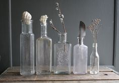 Vintage bottle collection - Mine is building up!