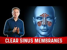 Eric Berg Featuring: Best Nutrients for Sinus Membranes Dr Eric Berg, Dr Berg, Natural Remedies For Gout, How To Clear Sinuses, Body Hacks, Alternative Health, Natural Medicine, Weight Loss Program, Body Care