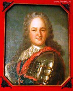 Портрет А.Д. Меншикова из музея Полтавской битвы