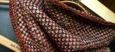 Fluted half-linen stitch cowl