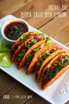 Mexican Food Recipes, Crockpot Recipes, Cooking Recipes, Mexican Dishes, Recipe For Birria, Mexican Birria Recipe, Birria Recipe Crock Pot, Stove Top Recipes, Instant Pot Dinner Recipes