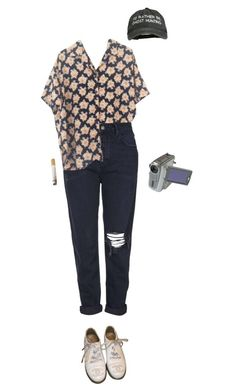 """hunter"" by unpleasantunicorn ❤ liked on Polyvore featuring Topshop and Chanel"