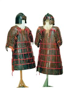 Armor, State of Chu (475-221 BC), Hubei Provincial Museum in Wuhan.