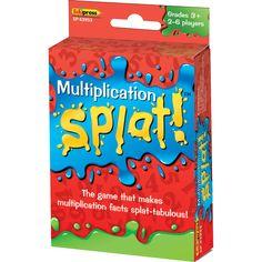 Math Splat Game: Multiplication