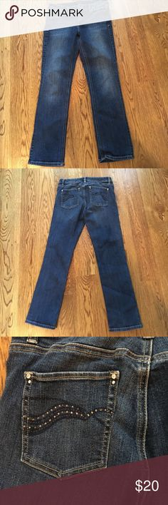 White House Black Market Jean White House Black Market Jean that I cuff as a Capri White House Black Market Jeans