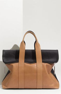 3.1 Phillip Lim '31 Hour' Leather Tote available at #Nordstrom $795. MUST HAVE! js