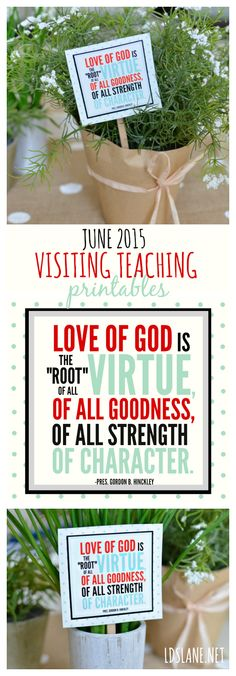 June 2015 Visiting Teaching Printables - ldslane.net